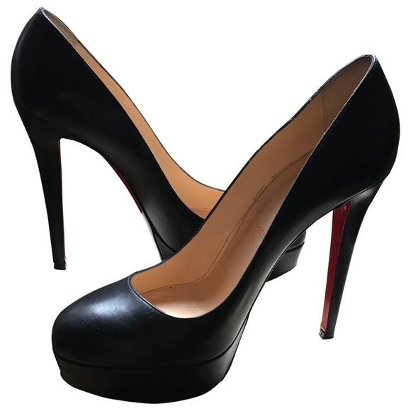 sports shoes 0389e 076ce Christian Louboutin Black Red Bottom Pumps